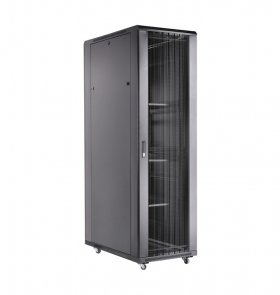 Toten AD8042.9201 Шкаф серверный 19 42U, 800*1000*2055, vented front and rear door, black